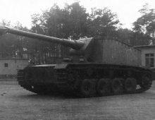 12,8 cm Selbstfahrlafette L/61 'Sturer Emil'