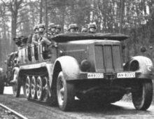 Sd.Kfz. 7 Mittlerer Zugkraftwagen 8t